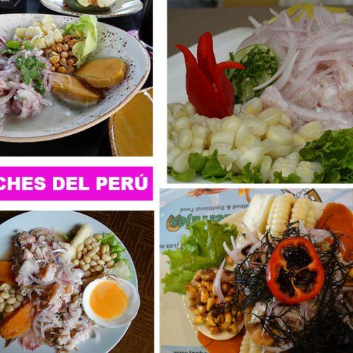 CEVICHES PERU